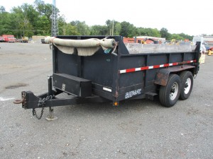 2008 Sure Trac Dump Trailer