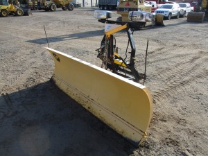 8' Fisher Minute Mount 2 Power Angle Snow Plow