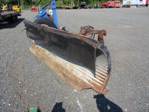 11' Power Angle Snow Plow With BOCE