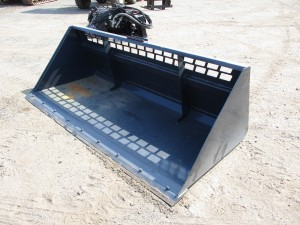 "96"" Stout Snow/Mulch Bucket With BOCE"
