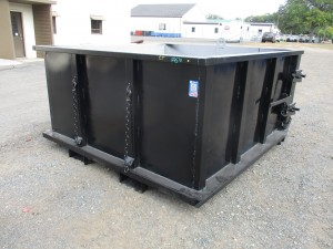 Telehandler Trash Container