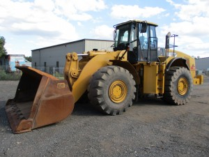 2008 Caterpillar 980H Rubber Tire Wheel Loader