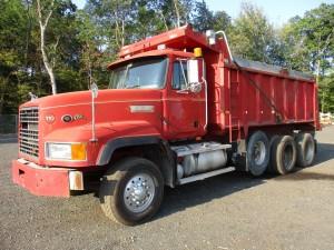 1998 Mack CL713 Tri/A Dump Truck