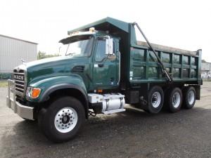 2006 Mack Granite CV713 Tri/A Dump Truck