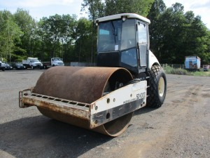 2003 Ingersoll Rand SD-100DTF Smooth Drum Roller