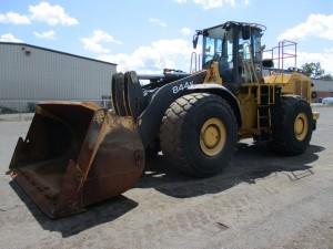 2011 John Deere 844K Rubber Tire Wheel Loader