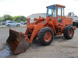 1988 John Deere 544E Rubber Tire Wheel Loader
