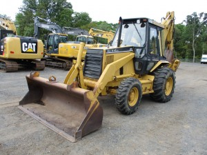 1996 Caterpillar 436B Backhoe Loader