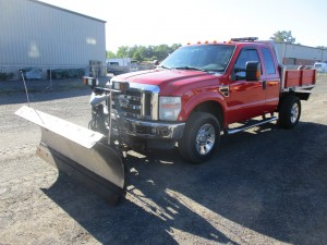 2008 Ford F-350 Lariat Flatbed Truck