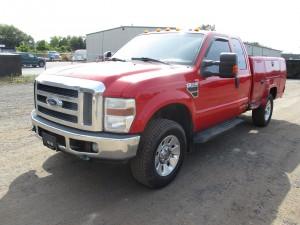 2008 Ford F-350 XLT Utility Truck