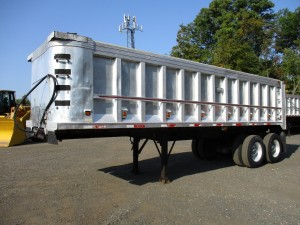 1997 Ti-Brook 28' Aluminum Dump Trailer