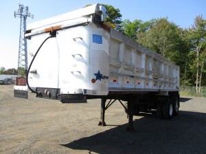 1999 Trail Star 28' Aluminum Dump Trailer