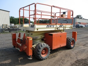 2001 JLG 25-RTS Rough Terrain Scissor Lift