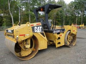 2006 Caterpillar CB534DXW Smooth Drum Roller
