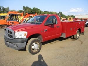 2007 Dodge Ram 3500 Utility Body Truck
