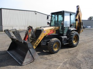 2001 Terex 860SX Backhoe Loader
