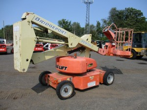 1997 JLG N35 Electric Boom Lift