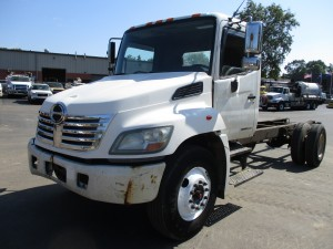 2008 Hino 268 Cab and Chassis
