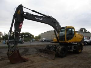 2002 Volvo EW170 Rubber Tire Excavator