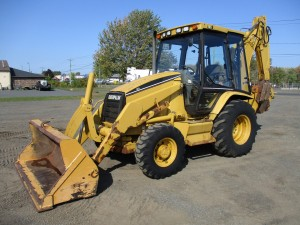 1998 Caterpillar 416C Loader Backhoe