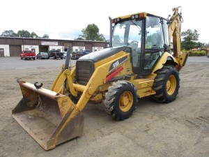 2006 Caterpillar 416E Loader Backhoe