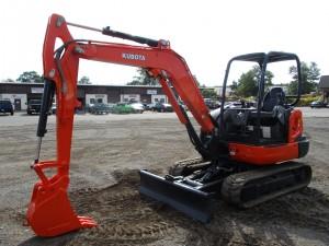 2015 Kubota KX040-4 Mini Excavator