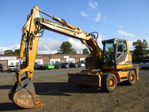 2011 Hydrema M1700C Rubber Tire Excavator
