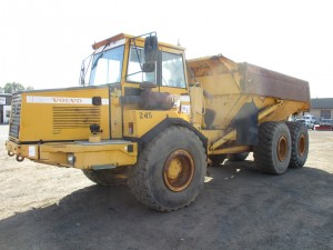 1999 Volvo A25C Articulated Haul Truck