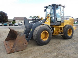 2011 John Deere 524K Rubber Tire Wheel Loader