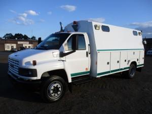 2007 GMC C5500 Utility Truck