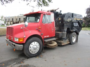 1991 International 4600 S/A Vac Truck