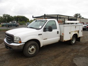 2004 Ford F-350 XL Utility Body Truck