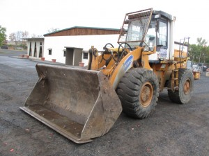 1994 Samsung SL150 Rubber Tire Wheel Loader