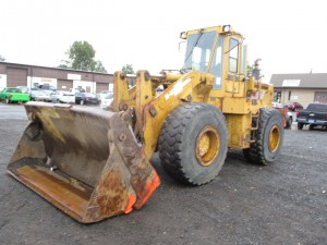 Kawasaki 80Z II Rubber Tire Wheel Loader