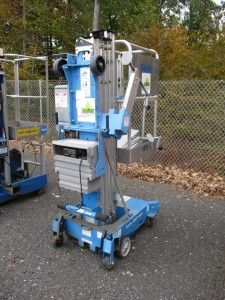 2010 Genie AWP-20S Electric Man Lift
