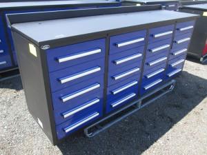 """88"""" Steel Work Bench Cabinet"""