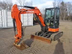 2018 Hitachi ZX35U-5 Mini Excavator