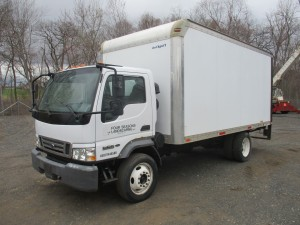2006 Ford LCF Cabover Box Truck
