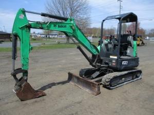 2014 Bobcat E32 Mini Excavator
