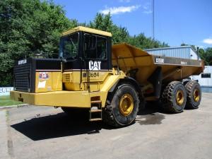 2002 Caterpillar D350E II Articulated Haul Truck