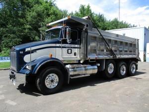 2007 Kenworth T800 Tri/A Dump Truck