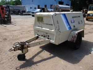 1986 Ingersoll Rand P185 Tow Behind Air Compressor