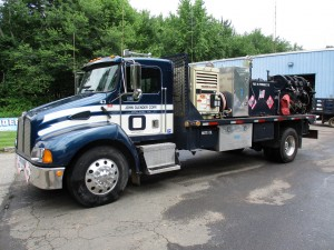 1999 Kenworth T300 S/A Service/Lube Truck