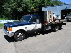 1987 Ford F-350 Flatbed Compressor Truck