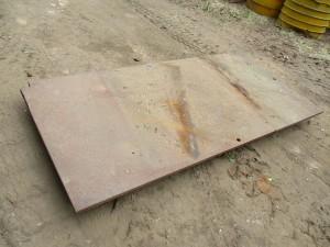 4' x 8' Steel Road Plate