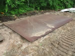 "9' x 15' 8"" Steel Road Plate"