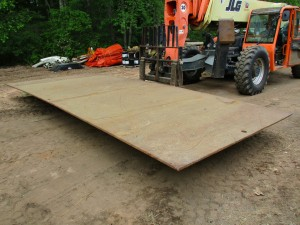 8' x 20' Steel Road Plate