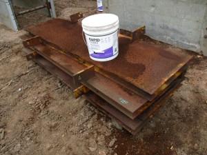 (4) Efficiency Manhole Box End Plates