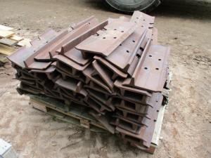 Quantity of D6 Dozer Track Pads