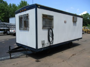 1989 Commercial Structure 20' Office Trailer